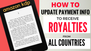 KDP Royalties – Earn Through Direct Deposit Worldwide