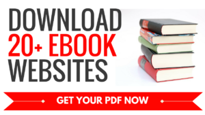 25+ Most Amazing Websites to Download Free eBooks